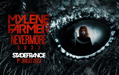 Mise en vente du concert de Mylène FARMER du 01/07/2023