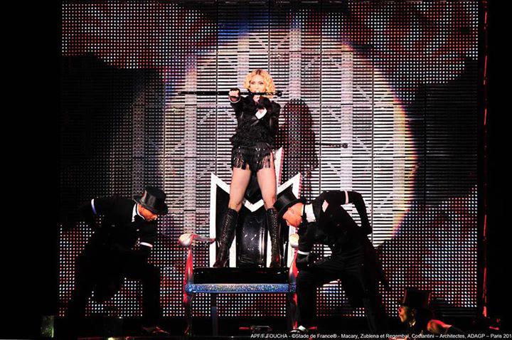 Concert de Madonna au Stade de France le 14/07/2012