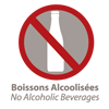 Pas d'alcool