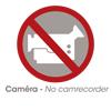 Pas de caméra