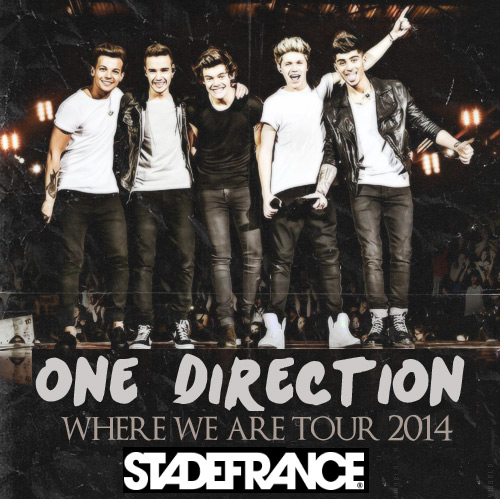 Concert One Direction du 20 et 21 juin 2014 au Stade de France