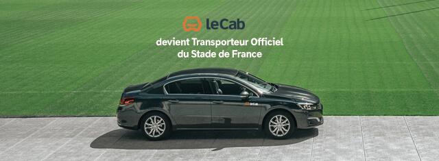 leCab devient Transporteur Officiel du Stade de France