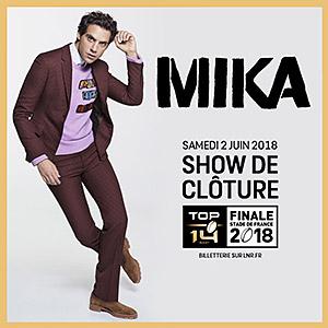 Concert de Mika sur la Finale du TOP 14