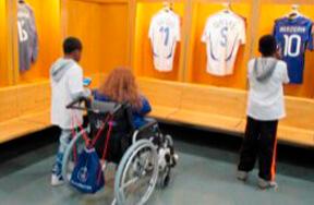 Vestiaires des joueurs au Stade de France