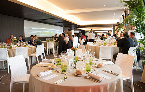 Salon VIP assis au Stade de France