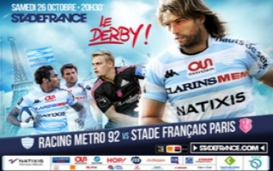 RACING METRO 92 vs STADE FRANCAIS PARIS 2013