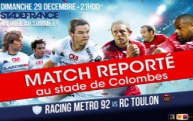 RACING METRO 92 - RC TOULON 2013