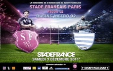 STADE FRANCAIS PARIS vs RACING METRO 92