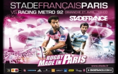 STADE FRANCAIS PARIS vs RACING METRO 92 2013