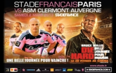 STADE FRANCAIS PARIS vs ASM CLERMONT 2013