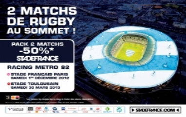 RACING METRO 92 - Pack 2 Matches (2012-13)