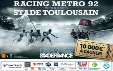 RACING METRO 92 vs STADE TOULOUSAIN
