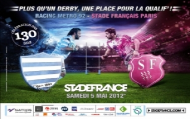 RACING METRO 92 vs STADE FRANCAIS PARIS
