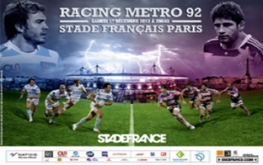 RACING METRO 92 - STADE FRANCAIS PARIS 2012