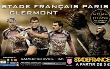 STADE FRANCAIS PARIS / AS CLERMONT AUVERGNE