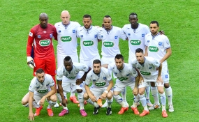 Auxerre's matches at Stade de France