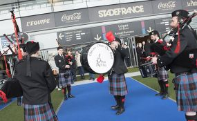 The Scotland rugby team: experience matches as a VIP!
