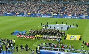 Spain's matches at Stade de France
