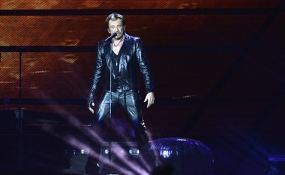 Johnny Hallyday at Stade de France