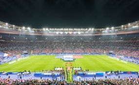 Les matchs de football au stade de France