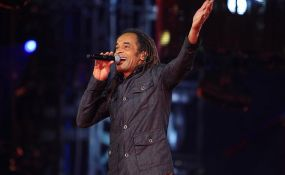 Yannick Noah at Stade de France