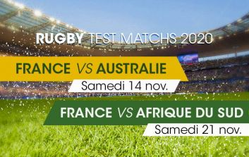 2-match rugby package : Autumn Internationals