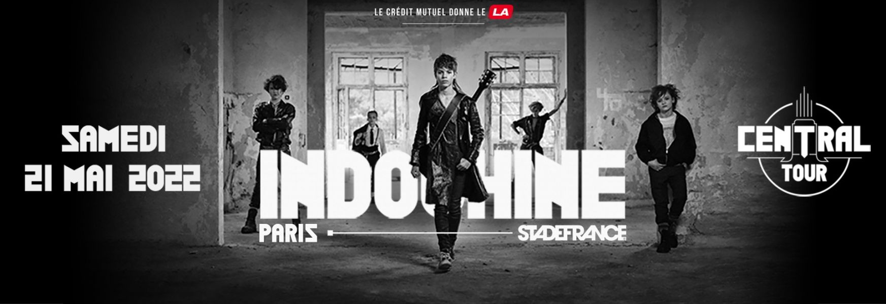 Indochine le samedi 21 mai 2022 au Stade de France
