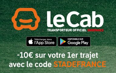 LeCab, Transporteur Officiel du Stade de France