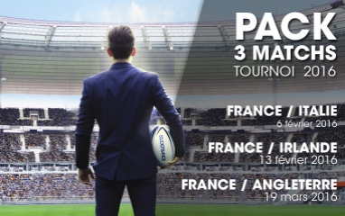 3 matches package - Italy, Ireland, England
