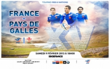 RBS 6 NATIONS - FRANCE / PAYS DE GALLES 2013