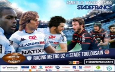RACING METRO 92 vs STADE TOULOUSAIN 2014