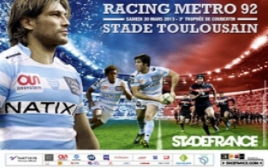 RACING METRO 92 vs STADE TOULOUSAIN 2013