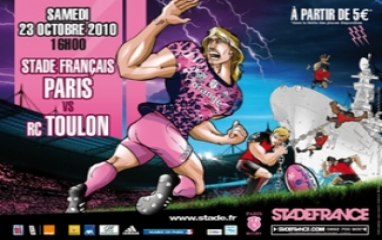STADE FRANCAIS PARIS - RC TOULON