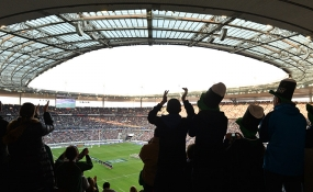 Rugby matches at Stade de France